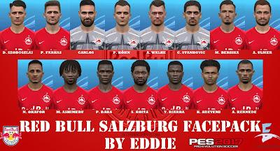 PES 2017 Facepack Red Bull Salzburg by Eddie