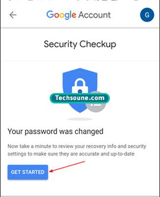 تغيير كلمة المرور Gmail 15