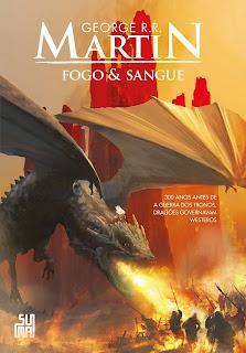 Capa do livro Fogo & Sangue