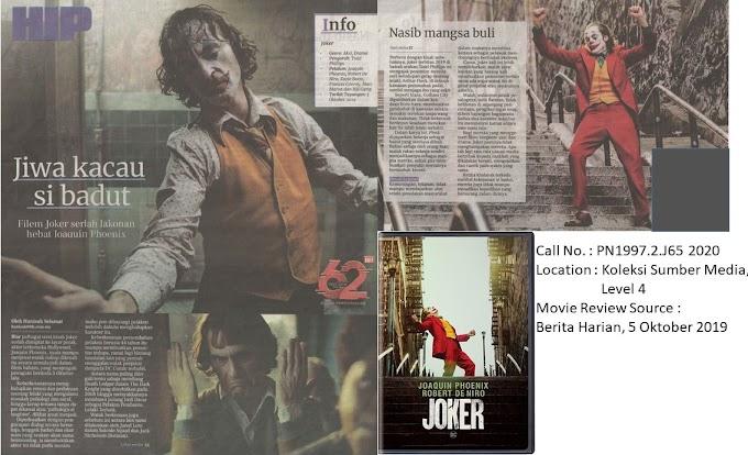 Movie Review on 'Joker'