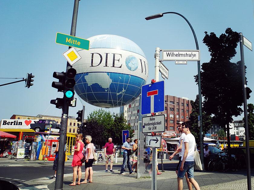 Die Wellt, Berlin
