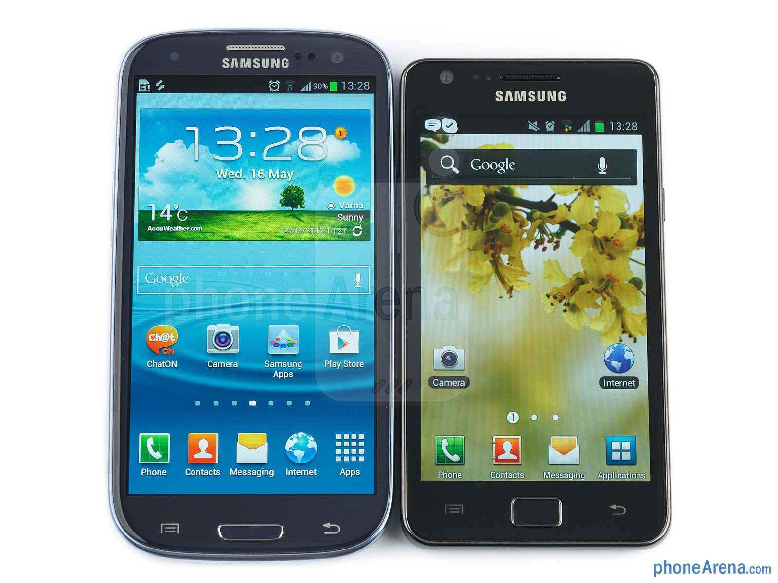 how to open samsung galaxy s2