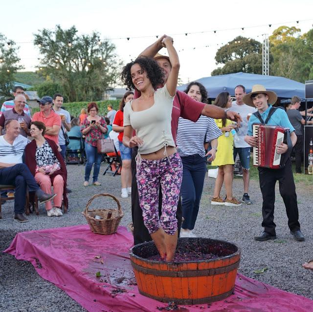 Festival Sabores da Vindima na Rota Vale do Rio das Antas em Bento Gonçalves