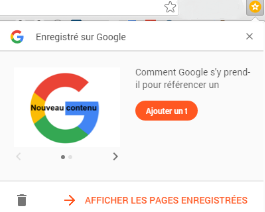 Google lance l'extension Enregistrer sur Google
