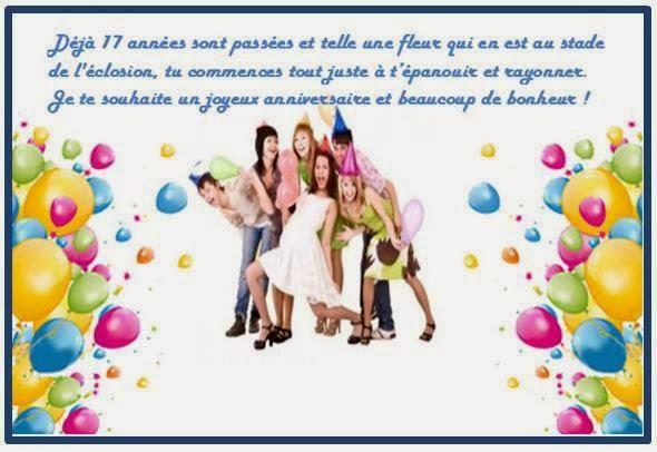 Célèbre carte invitation anniversaire fille 18 ans CB15