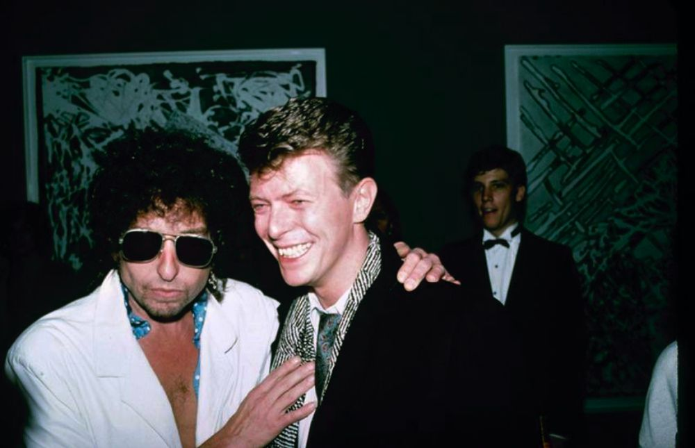 24 Candid Vintage Photographs Capture David Bowie Hanging Out With His Famous Friends in the 1970s and 1980s