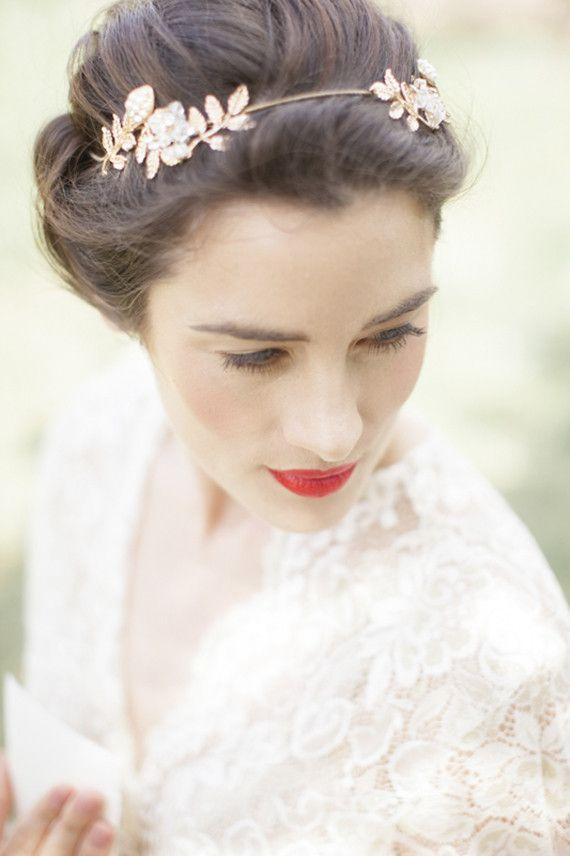 Novias Con El Pelo Corto Wedding Bar Design - Pelo-corto-con-diadema