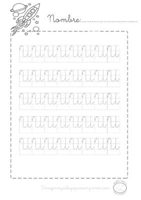 ejercicios de caligrafia para niños de preescolar pdf