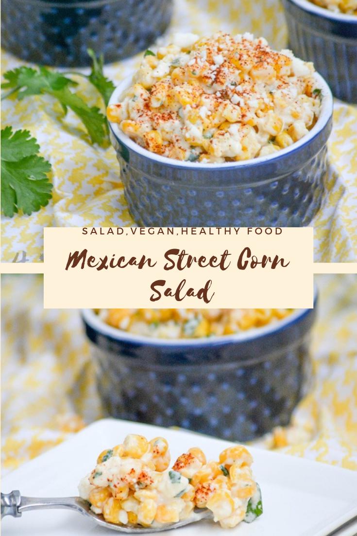 #Mexican #Street #Corn #Salad #vegan #healthyrecipes #easyrecipe