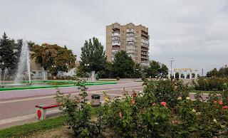 Мелитополь. Площадь Победы