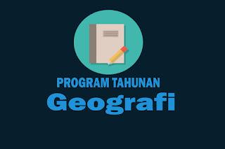 Program Tahunan Mata Pelajaran Geografi Kurikulum 2013 Revisi