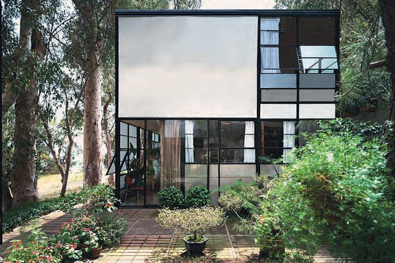 eames house steel window frames and windows. Black Bedroom Furniture Sets. Home Design Ideas