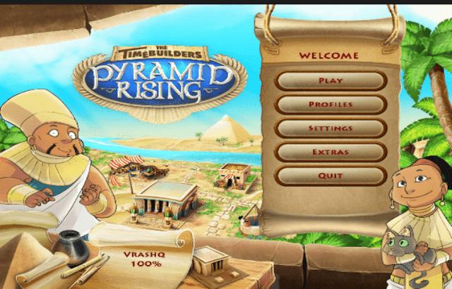 تحميل لعبة بناء الاهرامات