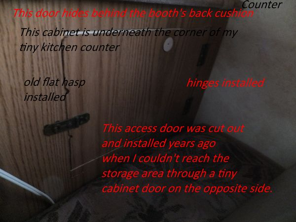 RV plumbing repair