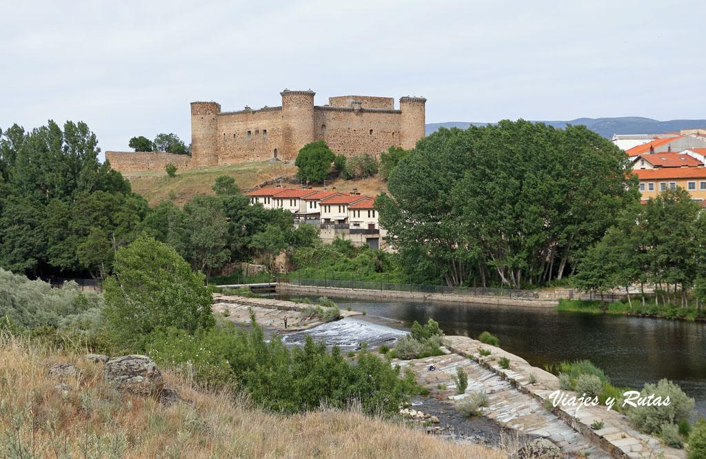 Río Tormes y castillo, El Barco de Ávila