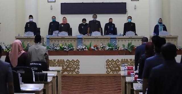 Bupati Tulang Bawang Sampaikan LPP APBD 2019 Kepada DPRD
