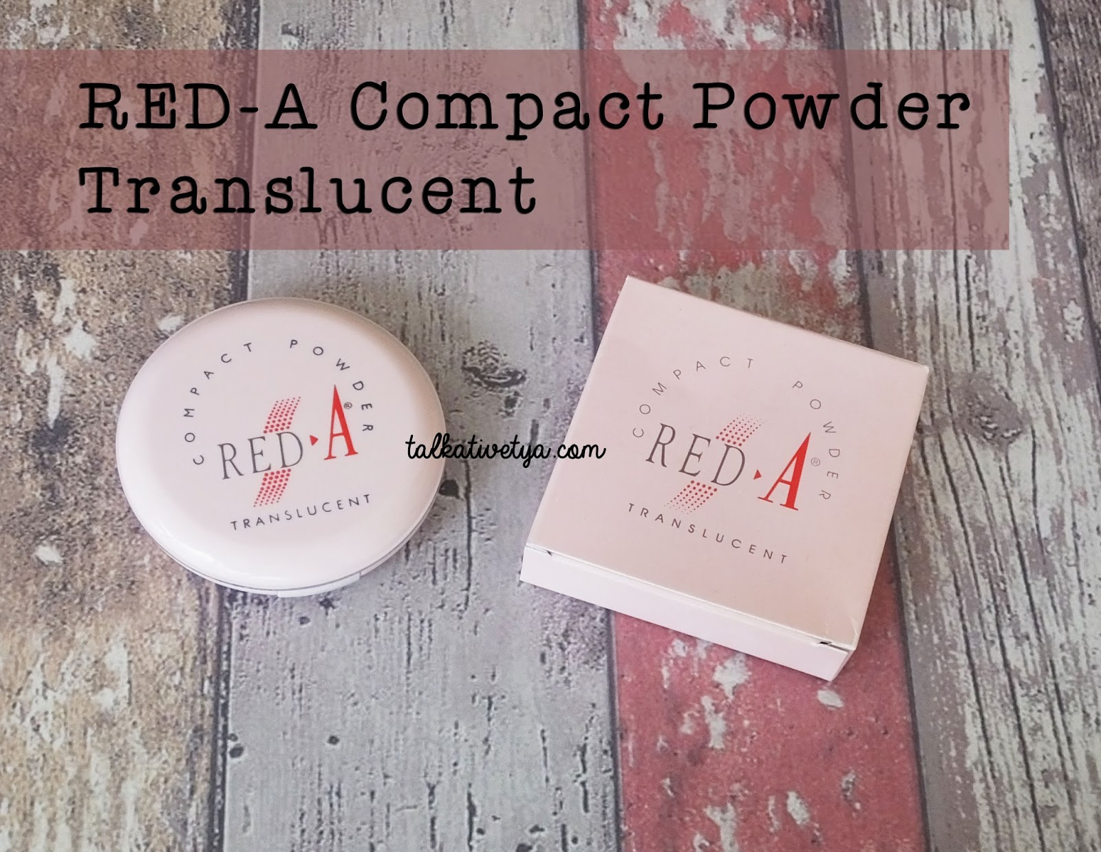 REVIEW RED A Compact Powder Translucent