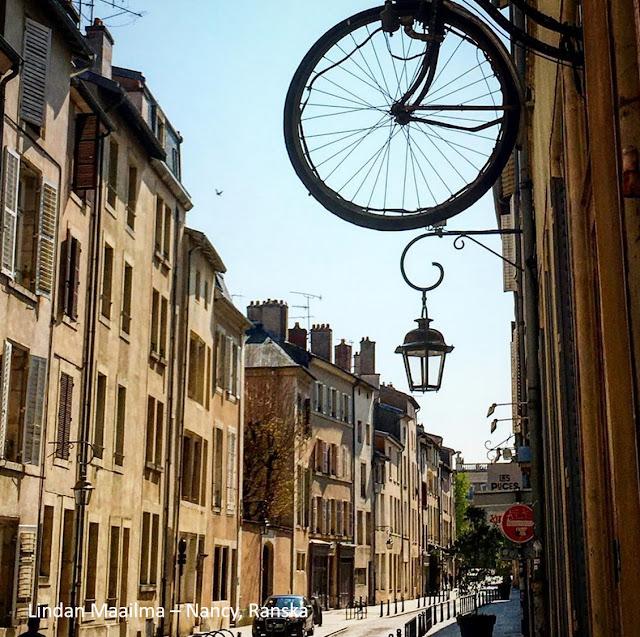 Kaupunkiloma Ranskassa Nancy