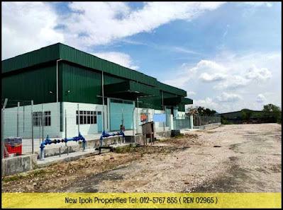 IPOH JLN KUALA KANGSAR IGB NEW S/S BUNGALOW FACTORY FOR RENT (I00255) - RM9,964/mth ( NEG )