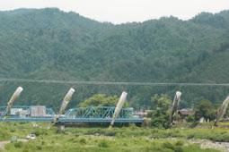 鮎のぼり 奥美濃大橋