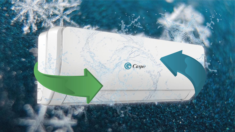 Chức năng iClean trên điều hòa Casper tự làm sạch