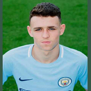 Phil Foden Talenta Muda Man City