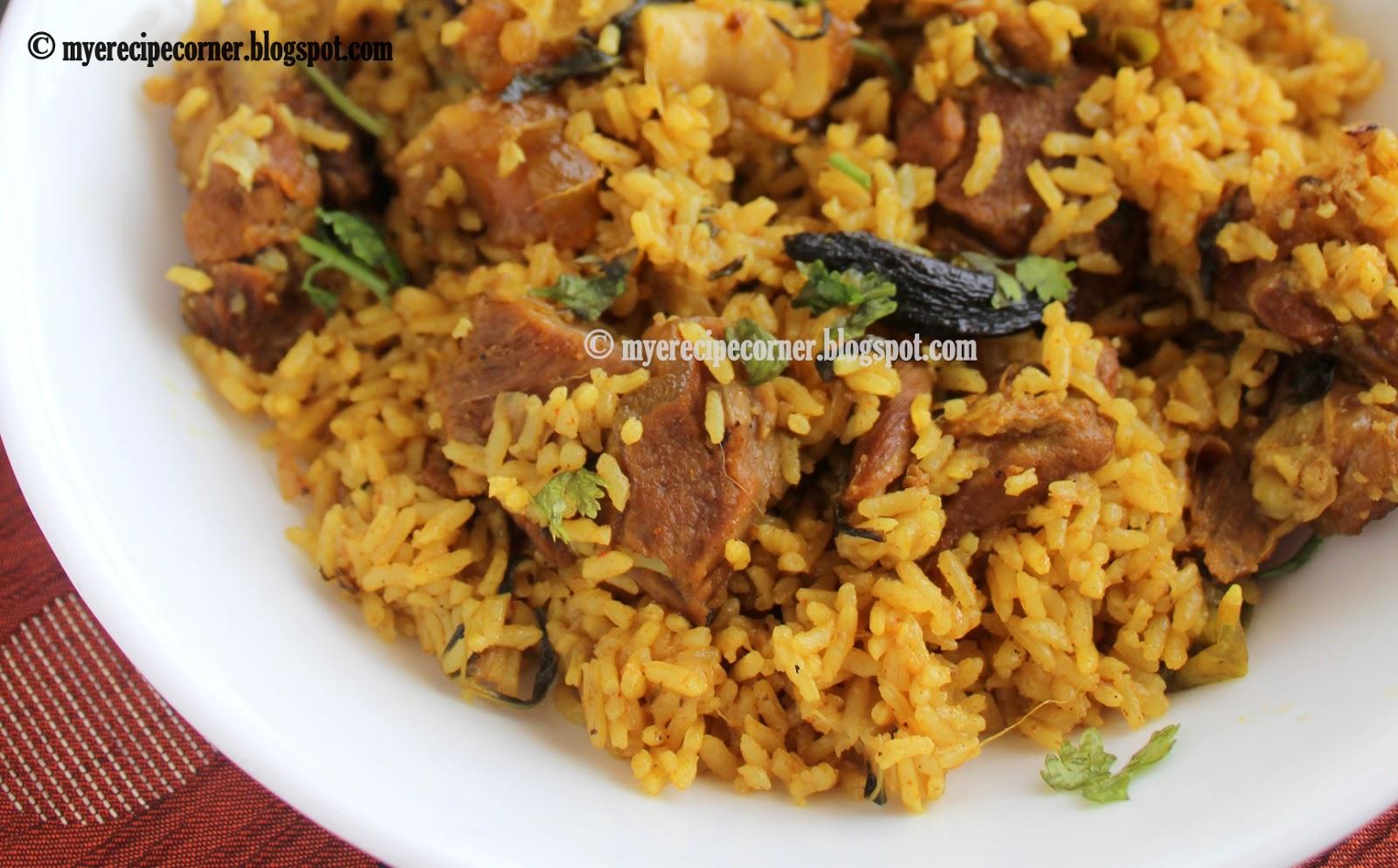Biryani Food Recipes In Tamil