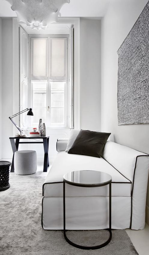 white and black decor inspiration