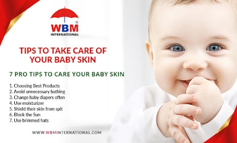 7 Pro Tips to Care your Baby Skin