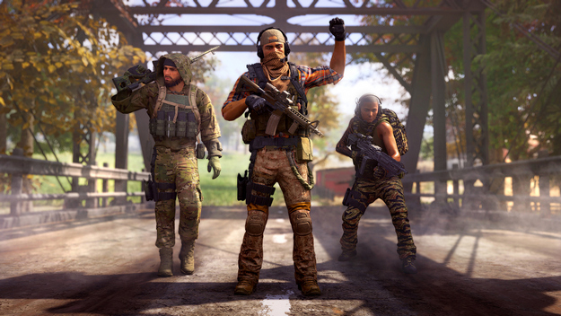 Ghost Recon Frontline expedition squad