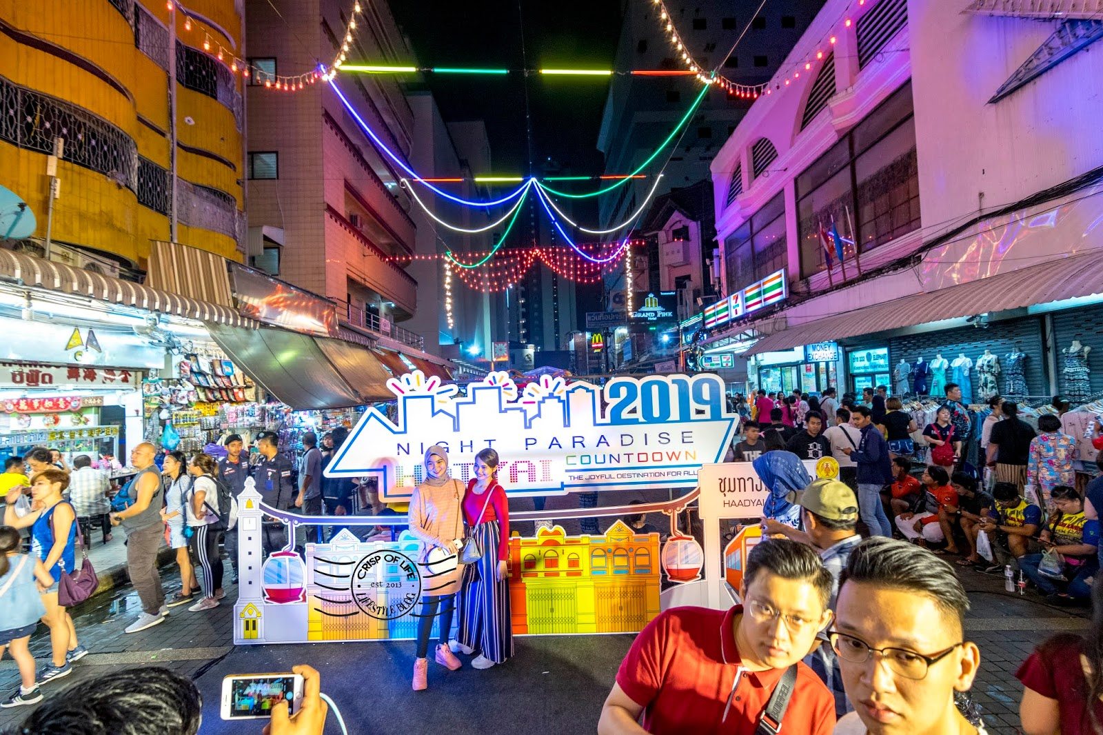 Hatyai 2D1N Shopping & New Year Count Down Trip