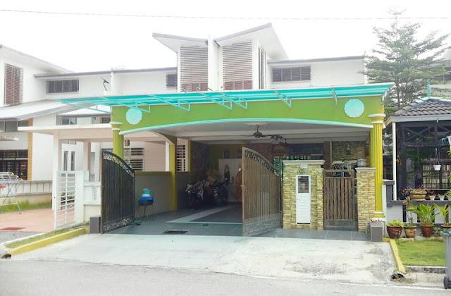 TERRACE HOUSE TIMUR @ ENSTEK, BANDAR ENSTEK, NILAI, NEGERI SEMBILAN