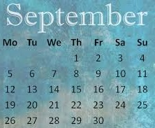 List of Important days in September