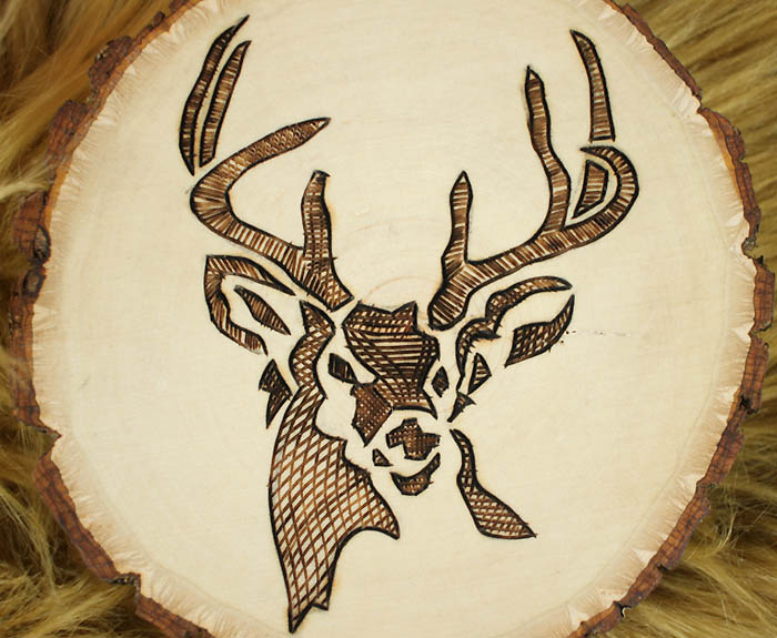 How to Make Woodburned Coasters- Great Handmade Hostess Gift!