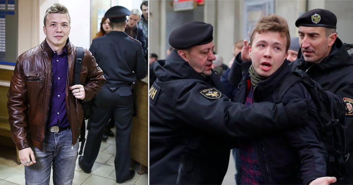 Outrage After Belarus Arrests Journalist By Forcing Ryanair Plane To Land