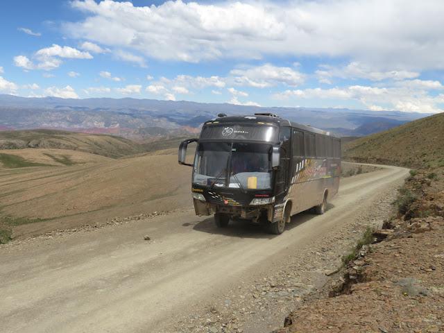 Bus nach San Vicente