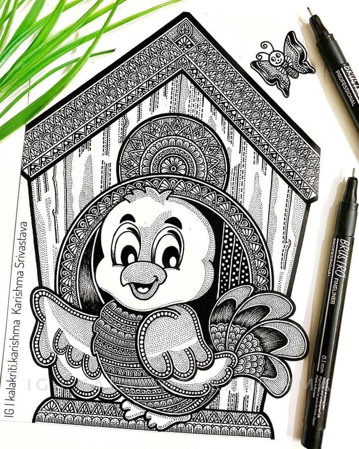 05-Bird-and-birdhouse-Karishma-Srivastava-www-designstack-co