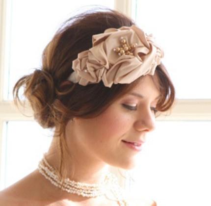 Terrific Bridal Headbands Hairstyles Hairstyles For Women Draintrainus