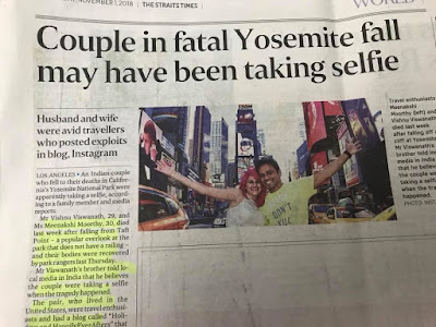 The selfie couple and their final hour.