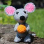 patron raton gratis amigurumi | free amigurumi patter mouse