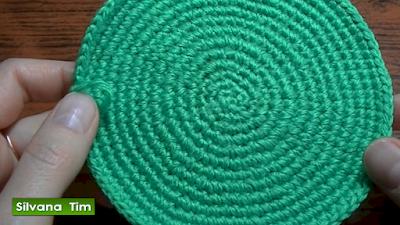 Cómo tejer círculo a crochet. Videotutorial.