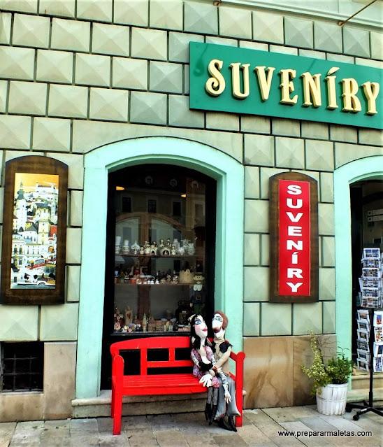 tiendas bonitas en el centro de Bratislava