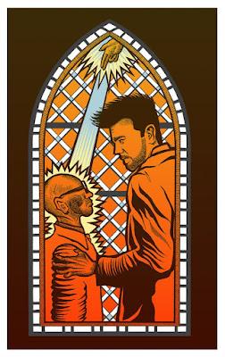 "Preacher Screen Print Series ""Episode 4"" by B. Methe x Gallery 1988"