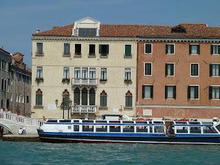 Palazzo Molina on the Riva degli Schiavoni was Petrarch's home in Venice