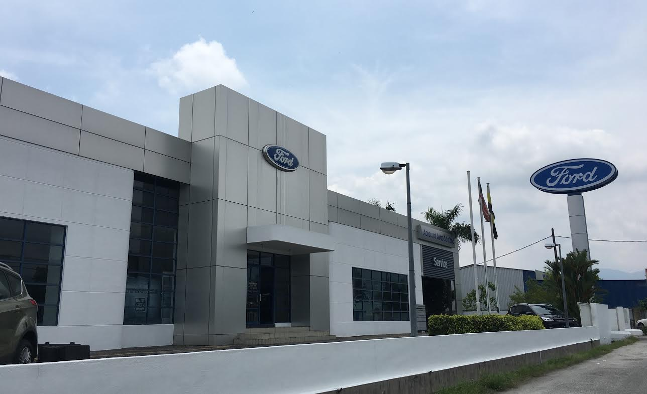 Ford Vehicle Showroom >> Motoring Malaysia Ford Has A Newly Upgraded Showroom In Taiping Perak
