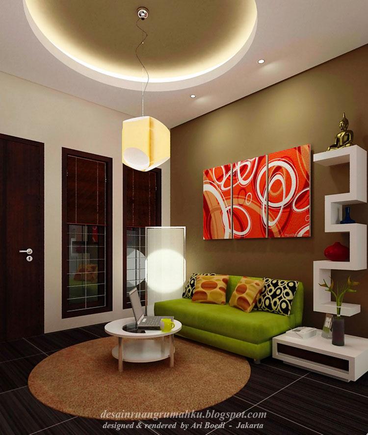 Menempatkan Warna Aksen di Ruang Rumah Kita