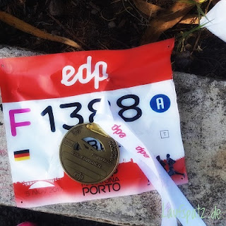 Porto Marathon 2017  maratona do porto Finish medal