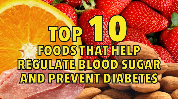 10 FOODS THAT HELP WITH DIABETES