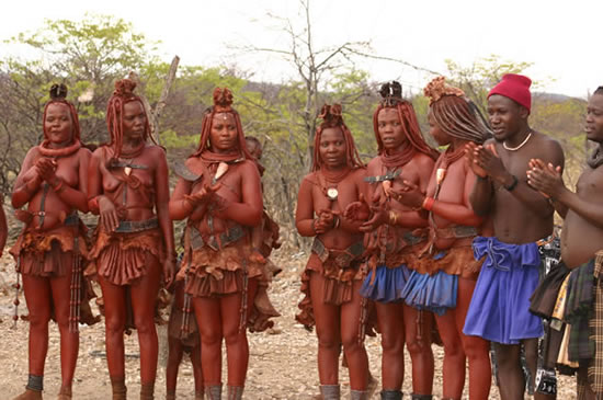 Naked pic of african village girls happens. can