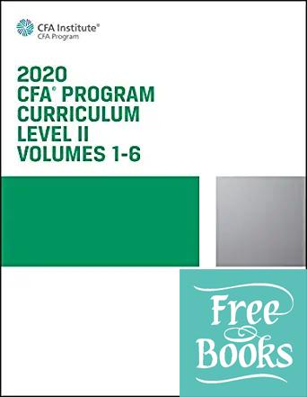 2020 CFA Program Curriculum